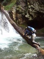 漁川流木登り